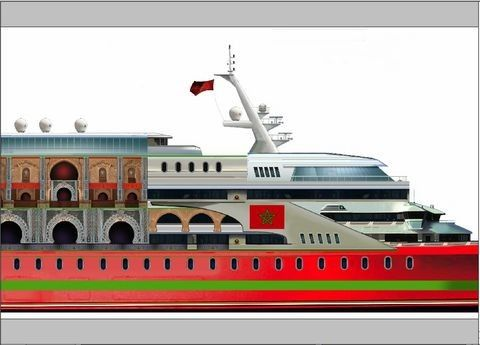 Pavel Shaposhnikov Design Crown Prince Moulay Hassan 2014 Crownline Boats for Sale Motor Boats
