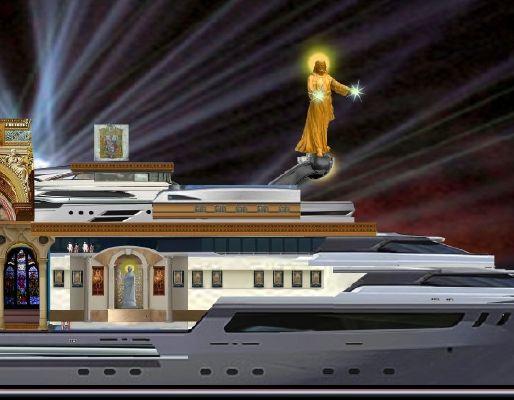 Pavel Shaposhnikov Design Residential Mega Yacht 2014 Motor Boats