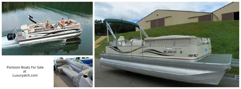 Aluminum Pontoon Boats Review Detailed -New 2020! Pontoon Boats for Sale
